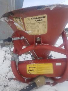 For sale Manure spreader, seed spreader,shredder/mulcher, tiller