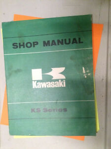 1974 1975 Kawasaki 125 cc KS Series Shop Manual