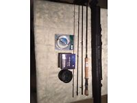 **BRAND NEW SHAKESPEARE SIGMA 10' #7 FLY ROD & ACCESSORIES ***