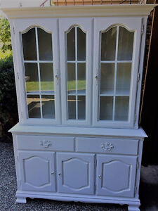 Beautiful White Buffet and Hutch-Reduced Price!