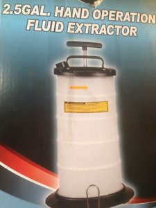 2,5 GAL HAND OPERATION FLUID EXTRACTOR - NEW