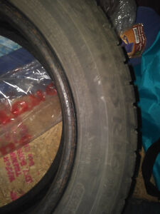 MICHELIN WINTER TIRES with RIMS 225 55 16 Kitchener / Waterloo Kitchener Area image 2