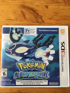 Pokemon Alpha Sapphire for 3DS $25