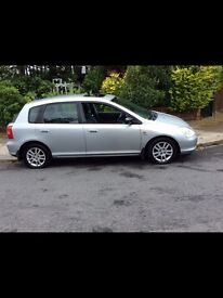 2002 HONDA civic 1.4 drives perfect ../nissan ford TOYOTA
