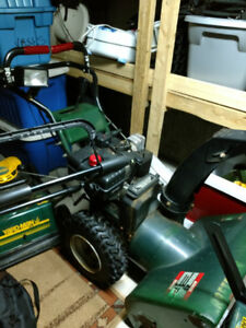 Craftsman Snowblower 9 hp, if it's still posted it's available.