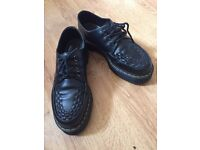 DR Marten 'Ashley' creeper style shoes
