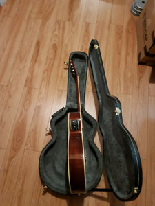 Epiphone acoustic/electric guitar. $350. Comes with hard case