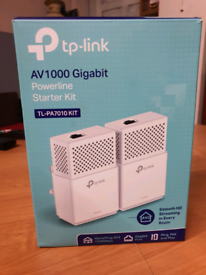 TP-link AV 1000 Gigabit powerline starter kit