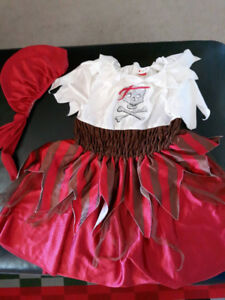 Pirate Halweene costume for girls/ 4-5 yrs