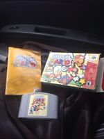 Paper mario n64 complete in box