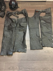 Leather Chaps Size M