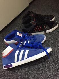 Adidas High Tops Men's size 6 and 6.1/2