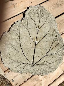 Leaf patio stones