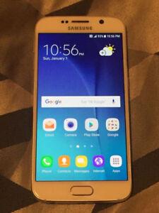 UNLOCKED Samsung Galaxy S6 32GB (WHITE)