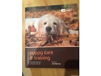 Puppy training and care book