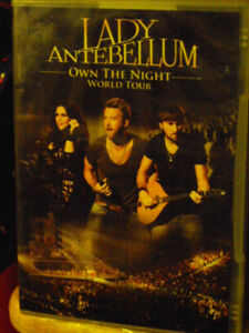 lady antabellum own the night world tour live in concert dvd