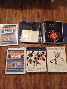 QUEEN'S FIRST YEAR SCIENCE/ARTS TEXTBOOKS