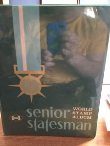 Used Stamp Album