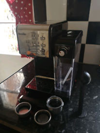 Breville one touch coffee machine