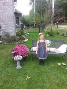 Grey dress with pink tafta under-skirt Gatineau Ottawa / Gatineau Area image 6