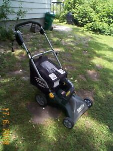 Electric Lawn Mower and Leaf Vacuum For Sale