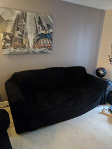 Sofa and loveseat 100$ for the pair