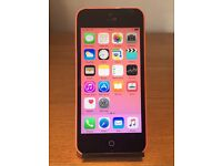 APPLE IPHONE 5 PINK 5C OPEN TO ANY NETWORK!