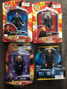 Doctor Who Action Figure Lot Toys Sealed 9th DR Eccleston Silent