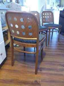3 fabulous Mid Century Modern Dinette chairs Cambridge Kitchener Area image 1