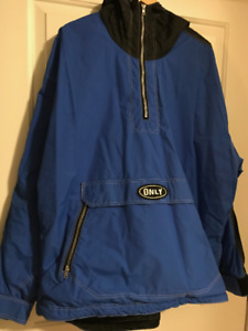 Intracan ONLY brand XL mens jacket with attached hood. Like new.