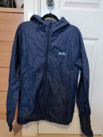 Ellesse Lightweight Jacket Navy Blue Large