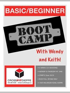 New 6-week Bootcamp starting June 15/15