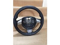 Ford Focus st steering wheel leather vgc genuine