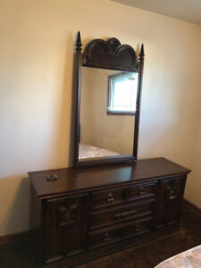 Beautiful Solid Wood Unit For Bedroom OBO