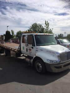 2011 International Towing flatbed