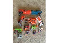 11 nerf gun set