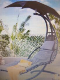 Helicopter Swing Chair Grey BNIB