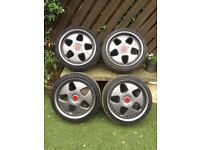 Keskin 17inch Alloy wheels 5x 110 and 5x112