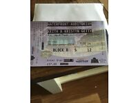 Keith & Kristyn Getty tickets (x2)