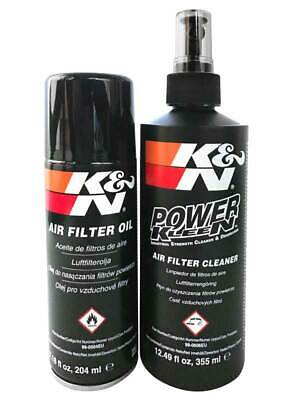 99-5000EU K&N Air Filter Care Service Kit Aerosol - International RECHARGER KIT