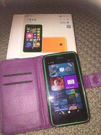 NOKIA LUMINA 635 mobile phone on Talk Mobile £20