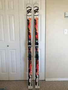 Rossignol Master GS Skis (184cm) + Axial 2 Bindings