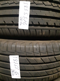 185 55 16 part worn tyres nearly new used tires