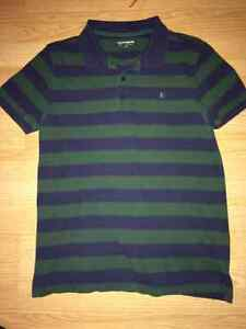 Boys Stripped Polo