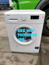 Beko 6kg washing machine free delivery in Nottingham