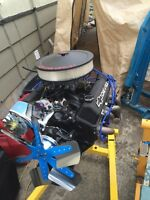 Pro built chevy 350 4 bolt main engine