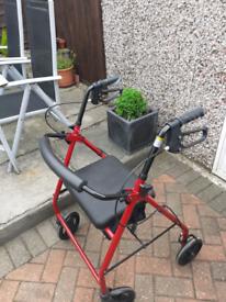 Eden Mobility walking seat with brakes