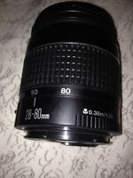 Objectif canon 28-80mm