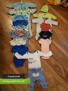 Baby boy clothing lots- MILLWOODS pick-up