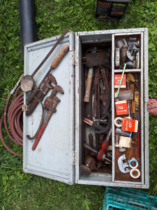Antique plumbers kit
